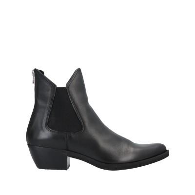 FELMINI ショートブーツ ブラック 36 牛革(カーフ) ショートブーツ