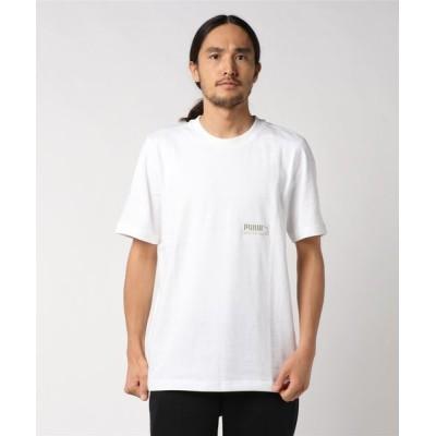 tシャツ Tシャツ PUMA プーマ M HEAVY CLASSICS Tシャツ 596710 02WHITE