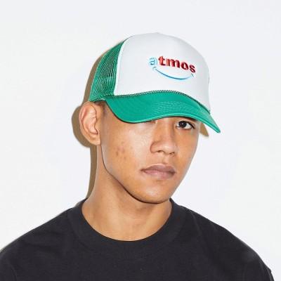 アトモス atmos SMILEY MESH CAP (GREEN)