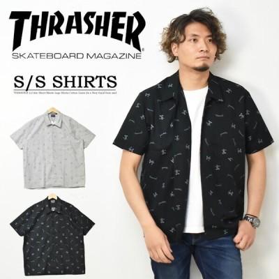 THRASHER スラッシャー マークゴンザレス 半袖 総柄シャツ TH5190