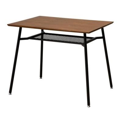 代引き不可 anthem Dining Table S ANT-2831BR おしゃれ 家具 かわいい カフェ 木 インテリア パソコンデスク テーブル ダイニング 収納 ダイニングテーブル デ