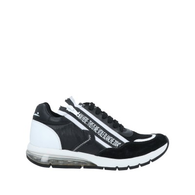 VOILE BLANCHE スニーカー&テニスシューズ(ローカット) ブラック 37 革 / 紡績繊維 スニーカー&テニスシューズ(ローカット)