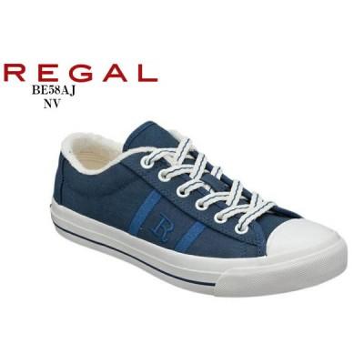 REGAL (リーガル)BE58AJ Rマークキャンパスカジュアルスニーカー  メンズとペアで展開するリーガル定番のRマークスニーカー レディス