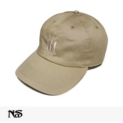 ナズ NAS OFFICIAL MERCHANDISE ILL CAP   BEIGE キャップ 6パネル ベースボール ダッドハット オフィシャル マーチャンダイズ 公式商品 ベージュ