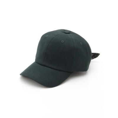 【大きいサイズ】BANDANA RIBBON CAP 大きいサイズ ファッション雑貨 レディース