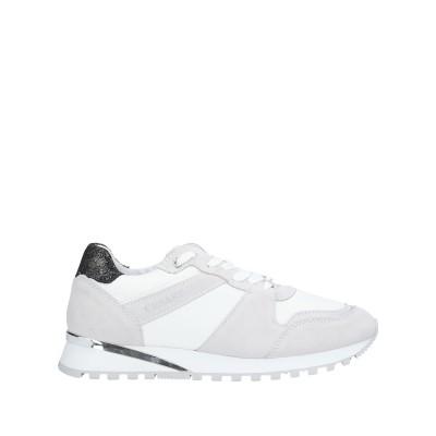 CESARE P. スニーカー&テニスシューズ(ローカット) ホワイト 36 革 / 紡績繊維 スニーカー&テニスシューズ(ローカット)