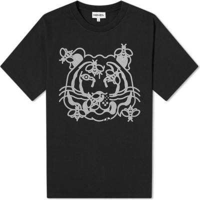 ケンゾー Kenzo メンズ Tシャツ トップス Bee A Tiger Skate Tee Black
