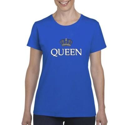 レディース 衣類 トップス Womens Queen Silver Crown Short Sleeve T-Shirt Tシャツ