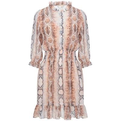MAJE ミニワンピース&ドレス 赤茶色 1 ポリエステル 100% / レーヨン ミニワンピース&ドレス