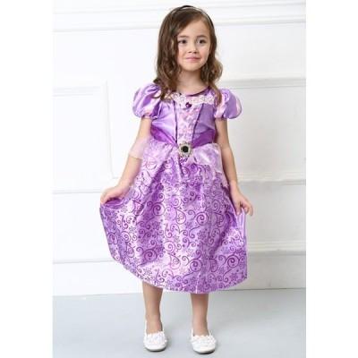 ちいさなプリンセス 子供 キッズ コスチューム 衣装 コス 仮装 プリンセスドレス コスプレ ドレス プリンセス ハロウィン ワンピース こども コスプレ衣装 子…