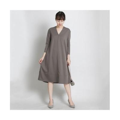 MARTHA(マーサ)Vネックフレアワンピース (ワンピース)Dress