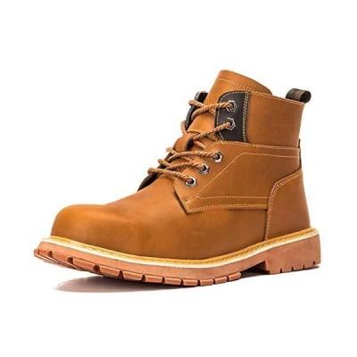 Placck安全 安全靴 作業靴 ワークブーツ ハイカット マーティン ブーツ 鋼先芯 ケブラー繊維 耐滑 耐油 28.0cm