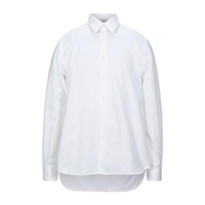 CALVIN KLEIN COLLECTION シャツ ホワイト 43 コットン 100% シャツ
