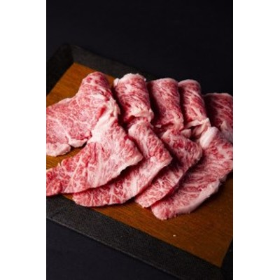B032 【米沢牛A5】カルビ焼肉用450g<肉の大場>
