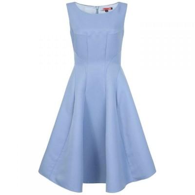 チチ Chi Chi レディース パーティードレス ミドル丈 ワンピース・ドレス Panelled Midi Dress Blue