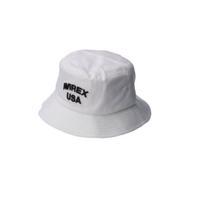 MASSIVE STORE / 【AVIREX/アヴィレックス】USA 3D EMB BUCKET HAT/USA刺繍ハット MEN 帽子 > ハット