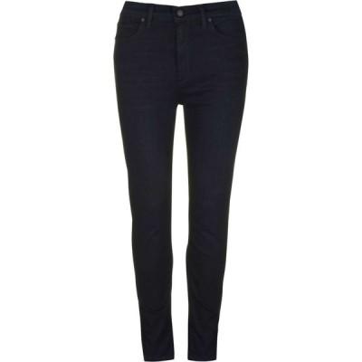 ハドソン Hudson レディース ジーンズ・デニム スキニー ボトムス・パンツ Barbara High Rise Super Skinny Jeans Navy