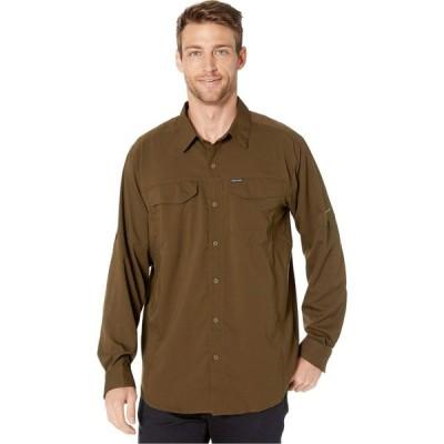コロンビア Columbia メンズ シャツ トップス Silver Ridge Lite Long Sleeve Shirt Olive Green