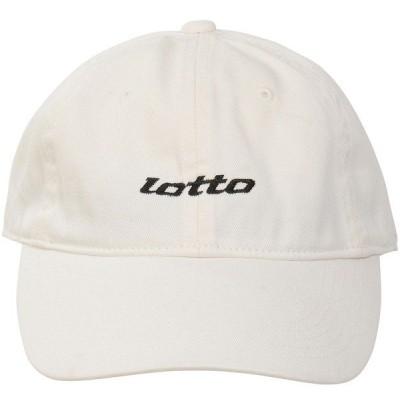 LOTTO ロット LOTTOコットンCAP LO-Y20-013-001 スポーツアクセサリー 帽子 メンズ ホワイト FREE