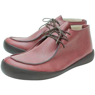 リゲッタカヌー メンズファッション 紳士靴 ミドルカットシューズ CJFC-7123 レッドブラウン regettacanoe CJFC-7123-RBR