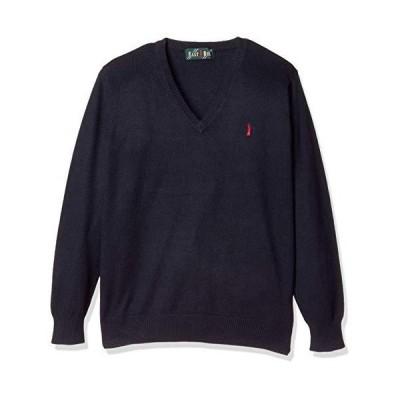 [イーストボーイ・スクール] セーター 9206506 レディース ネイビー×レッド(580) 9
