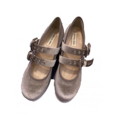 ballet wedge shoes (grege)