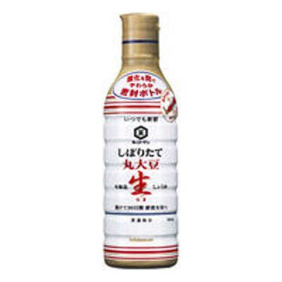 キッコーマン食品キッコーマン 丸大豆生しょうゆ 450ml<やわらか密封ボトル>