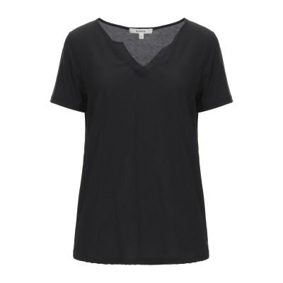 GARCIA T シャツ ブラック XS レーヨン 70% / ポリエステル 30% T シャツ