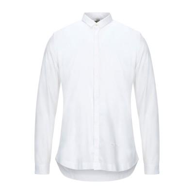 DNL シャツ ホワイト 40 コットン 97% / ポリウレタン 3% シャツ
