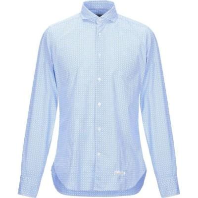 ティントリア マッティ TINTORIA MATTEI 954 メンズ シャツ トップス Patterned Shirt Azure