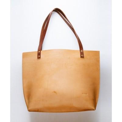 トートバッグ バッグ 【BrownBrown】ブラウンブラウン/  レザートートバッグ Lサイズ(定番商品)