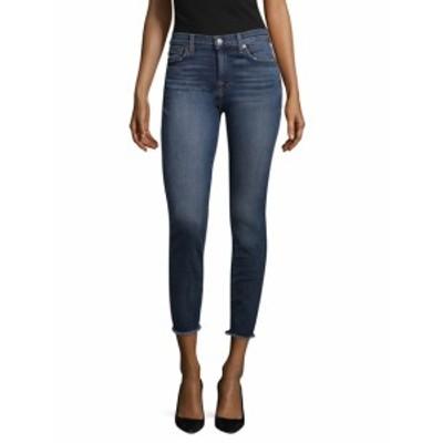 7 フォー オールマンカインド レディース パンツ デニム Gwenevere Graphic Stitch Ankle Jean