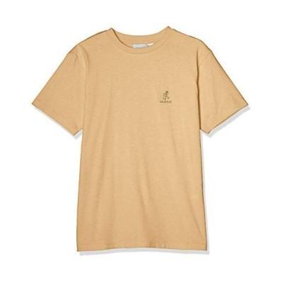 グラミチ Tシャツ BIG RUNNNINGMAN TEE メンズ BEIGE 日本 M (日本サイズM相当)