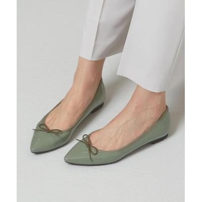 green label relaxing / <closet story>ポインテッド バレエシューズ 21SS WOMEN シューズ > バレエシューズ