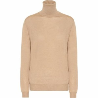 ステラ マッカートニー Stella McCartney レディース ニット・セーター トップス Virgin wool turtleneck sweater Sand