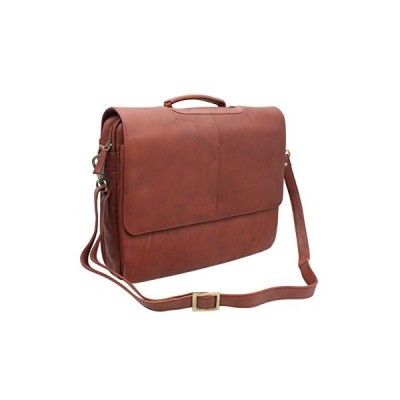 Visconti A4 Leather Bag Style 658 Brown 並行輸入品