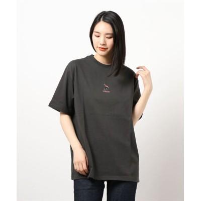 ROSE BUD / バックプリントTシャツ WOMEN トップス > Tシャツ/カットソー