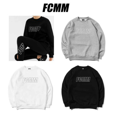 [FCMM]Linear Logo Sweatshirt/ ★韓国人気ブランド★/100%正品/韓国大人気/ 人気商品 送料無料長袖