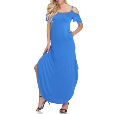 ホワイトマーク レディース ワンピース トップス Women's Lexi Maxi Dress