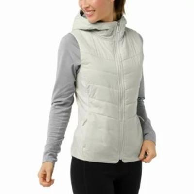 スマートウール ベスト・ジレ Smartloft 60 Hoodie Vest Silver Birch