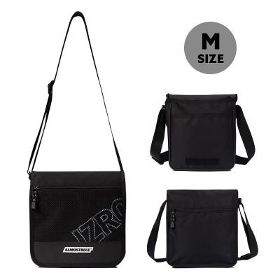 ALMOSTBLUE × IZRO MINI BAG Mサイズ オールモストブルー ショルダーバッグ ミニバッグ ブラック かわいい 韓国