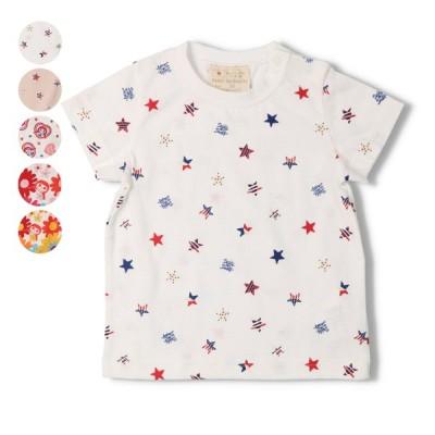 21夏セール47%OFF価格【子供服】 Daddy Oh Daddy (ダディオダディ) 日本製星・ダディコ総柄Tシャツ V32882