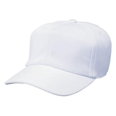 SSK エスエスケイ 角ツバ6方型ベースボールキャップ 帽子 ホワイト BC061-10