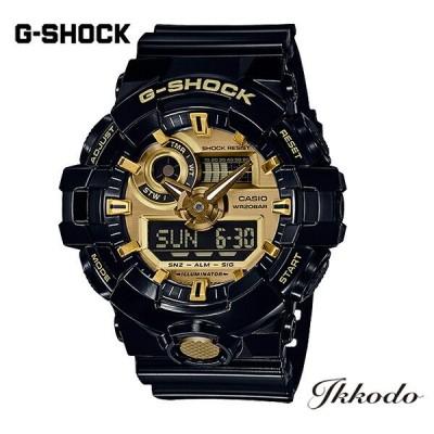 G-SHOCK Gショック カシオ BASIC クォーツ 53.4mm国内正規品 腕時計 GA-710GB-1AJ 【GA710GB1AJ】