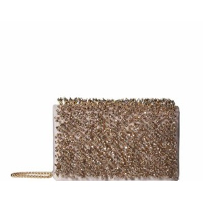 Adrianna Papell アドリアーナ パペル ファッション バッグ Adrianna Papell NEW Oyster Nebraska Embellishhed Flap Small Clutch
