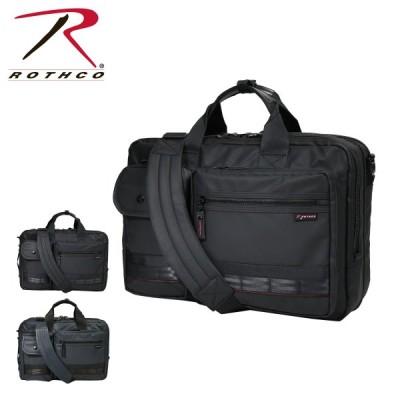 ロスコ ビジネスバッグ 3WAY A3 レッドライン メンズ 45005 ROTHCO | ブリーフケース ビジネスリュック 撥水 大容量 拡張