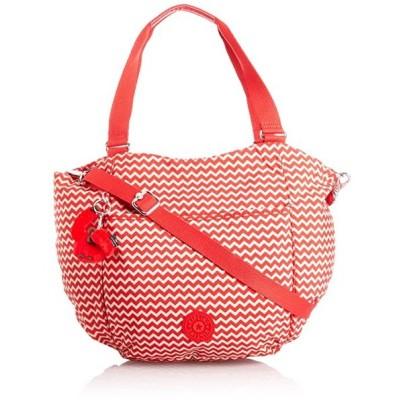 Kipling レディース Gwendolyn B ショルダー Bag, シェブロン レッド PR, K15339A90(海外取寄せ品)