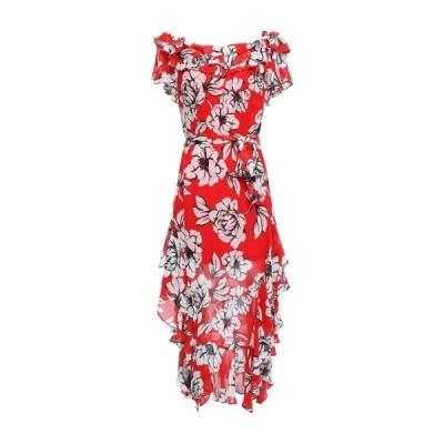 MARISSA WEBB シルクドレス ファッション  レディースファッション  ドレス、ブライダル  パーティドレス レッド