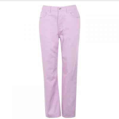 モンキージーンズ Monkee Genes レディース ジーンズ・デニム ボトムス・パンツ Libby Straight Jeans Pink