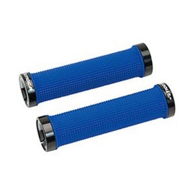 タイオガ 自転車用品 ロックオン スリム グリップ   BLU(ブルー)